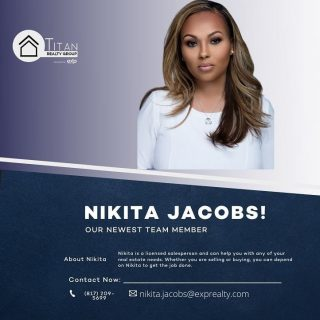 🚨🚨SPECIAL ANNOUNCEMENT🚨🚨 The Titan Realty Group brokered by eXp Realty would like to welcome Nikita to the team‼️Nikita will be partnering with the fastest growing brokerage in the World 🌎 To say we're honored to be in business with you on this new adventure is an understatement‼️ Be sure to follow Nikita online as she works to bless others with home ownership. God is good‼️ #titanrealtygroup #titanexp #workwiththebest #titanstrong #titanup #agentfreedom #revenueshare #exprealtyproud #exprealty #coaching #mentoring #gotstock #expi #retirement #wealthmindset #wealthbuilding #realestateagent #agentowned #DoTheMath #agentobsessed