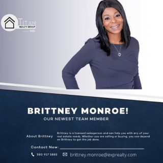 🚨🚨SPECIAL ANNOUNCEMENT🚨🚨 The Titan Realty Group brokered by eXp Realty would like to welcome Brittney Monroe to the team‼️Brittney will be partnering with the fastest growing brokerage in the World 🌎 To say we're honored to be in business with you on this new adventure is an understatement‼️ Be sure to follow Brittney online as she works to bless others with home ownership. God is good‼️ #titanrealtygroup #titanexp #workwiththebest #titanstrong #titanup #agentfreedom #revenueshare #exprealtyproud #exprealty #coaching #mentoring #gotstock #expi #retirement #wealthmindset #wealthbuilding #realestateagent #agentowned #DoTheMath #agentobsessed